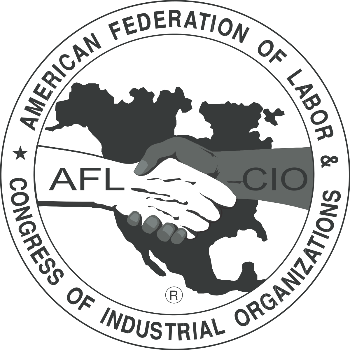 American Federation of Labor and Congress of Industrial Organizations logo