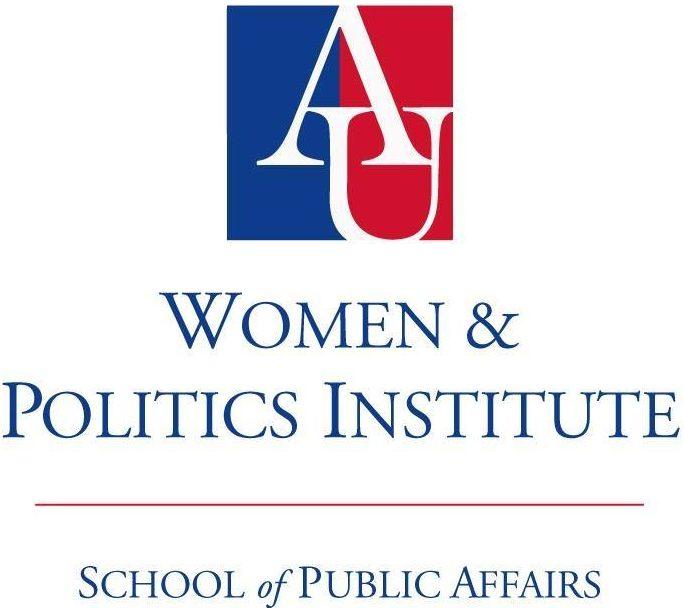 American University Women & Politics Institute logo