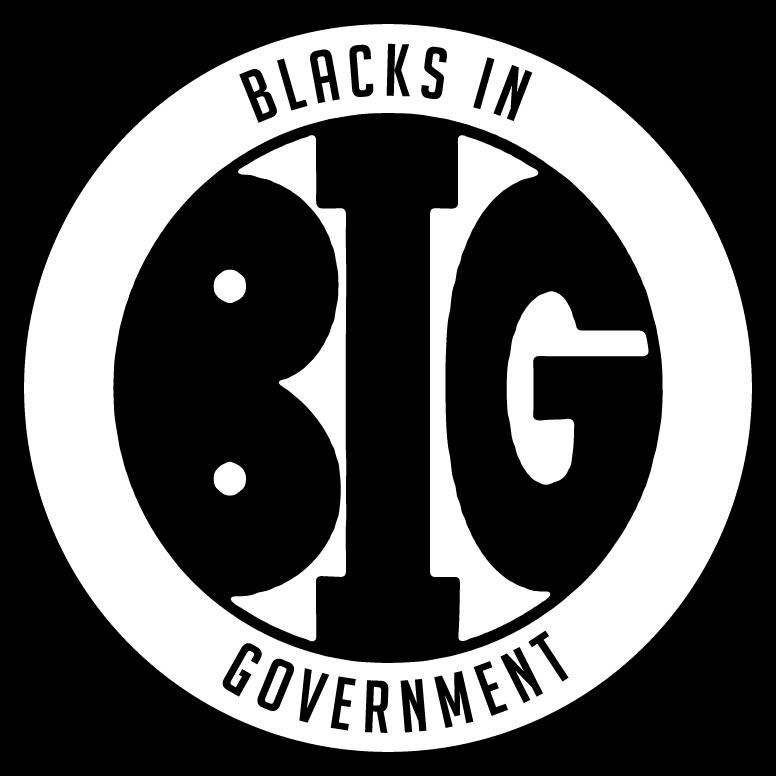 Blacks in Government logo
