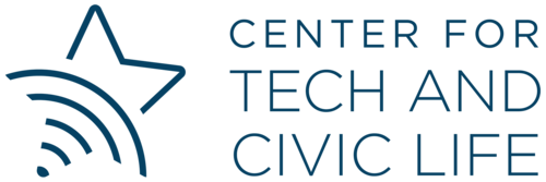 The Center for Technology and Civic Life logo