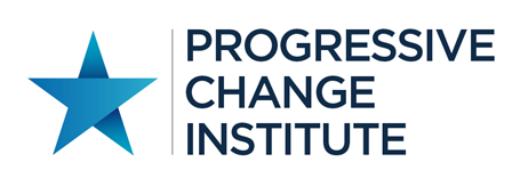 Progressive Change Institute logo