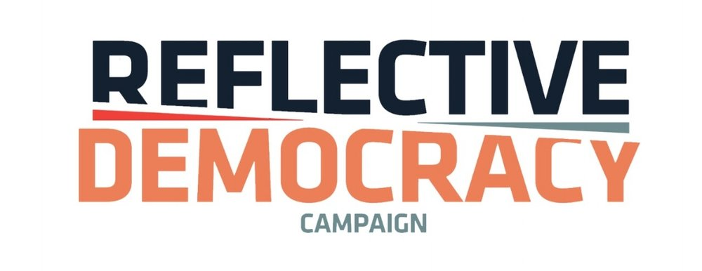 The Reflective Democracy Campaign logo