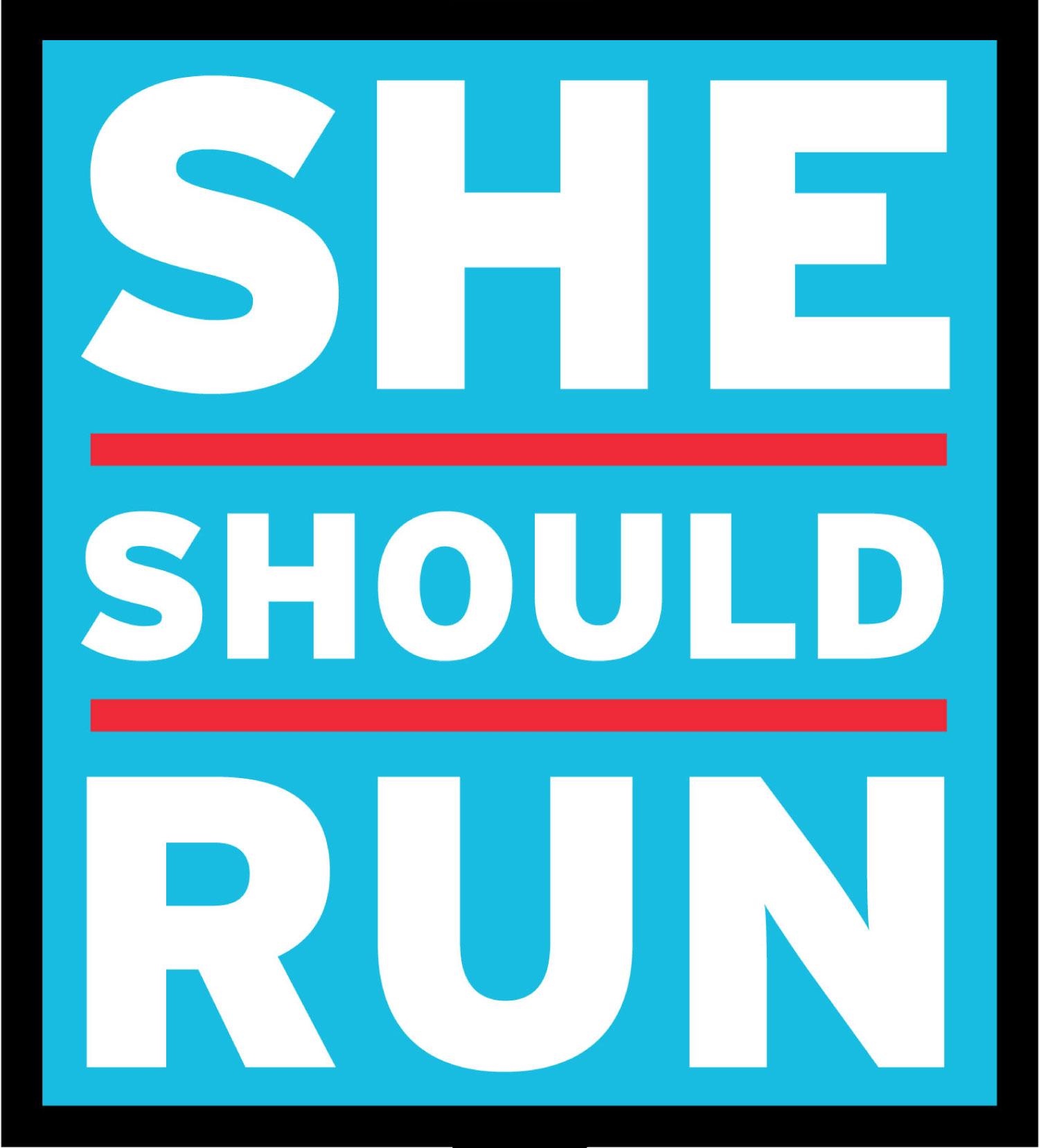 She Should Run logo