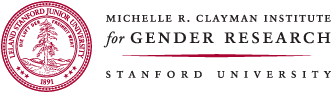 Stanford University Michelle Clayman Institute for Gender Research logo