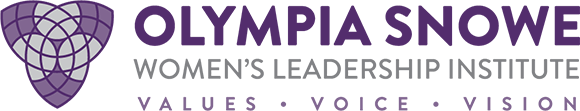 Olympia Snowe Women's Leadership Institute Logo