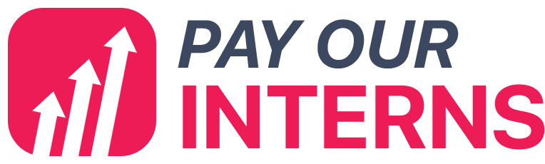 Pay Our Interns Logo